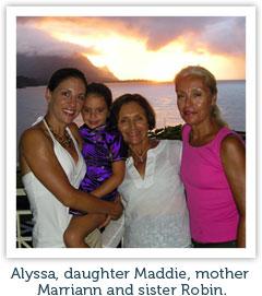 Alyssa and Family 2